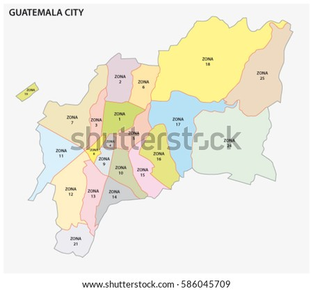 Guatemalan Political Map Stock Images RoyaltyFree Images - Political map of guatemala