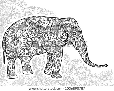 Modern Relaxing Coloring Pages Elephant Photos - Wordpress Themes ...