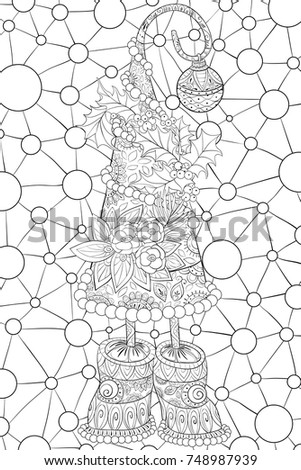 Stock Vector Old Straw Hat Cartoon furthermore Hat Coloring Pages in addition Cheshire cat as well Winter Hat Clip Art 36449 together with For Baby Coloring Pages. on winter cap coloring page