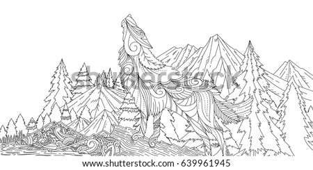 Wolf Moon Stock Images, Royalty-Free Images & Vectors ...