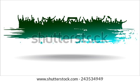 Advertising banner sports championships and concerts  - stock vector