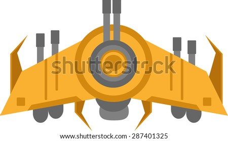 Aero space for game - stock vector