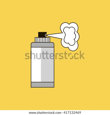 aerosol icon. aerosol sign - stock vector