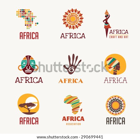 Africa and Safari elements and icons