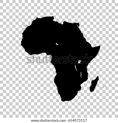 Africa Map No Background | Campinglifestyle