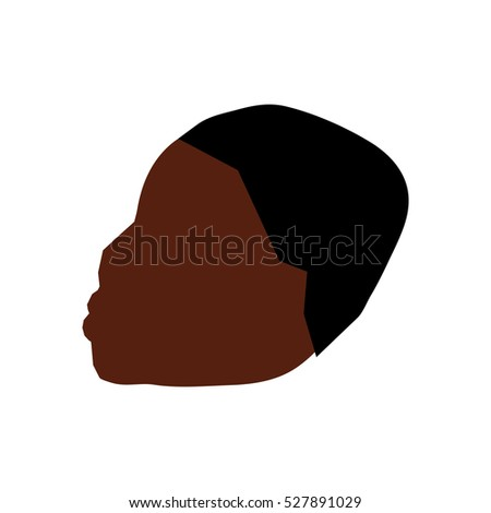 african kid boy icon vector illustration graphic design