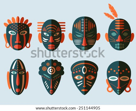 african mask stock images royaltyfree images amp vectors