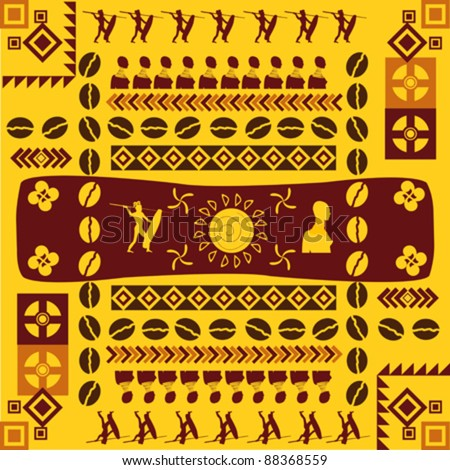 African shield Stock Photos, Images, & Pictures | Shutterstock Traditional African Patterns