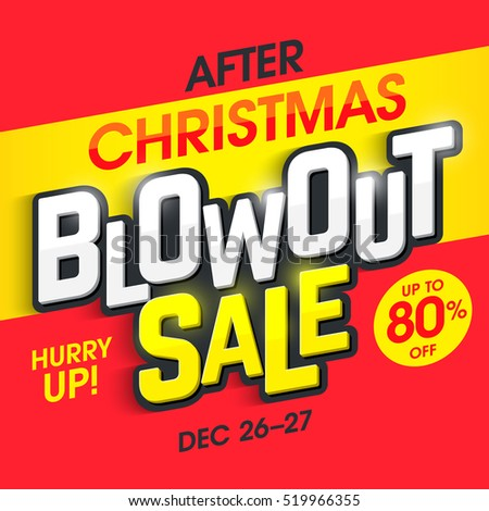 After Christmas Sale Stock Photos, Royalty-Free Images & Vectors ...