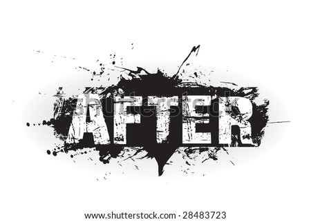 after grunge icon,rubber stamps - stock vector
