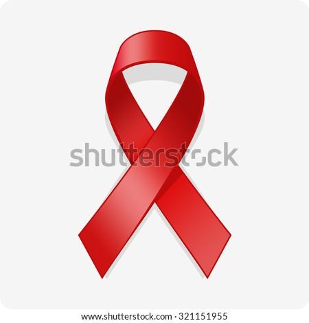 AIDS vector icon. - stock vector