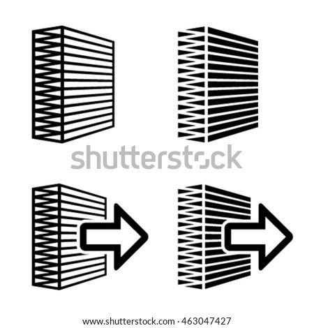 Air Filter Black Symbol Vector Stock Photo Photo Vector