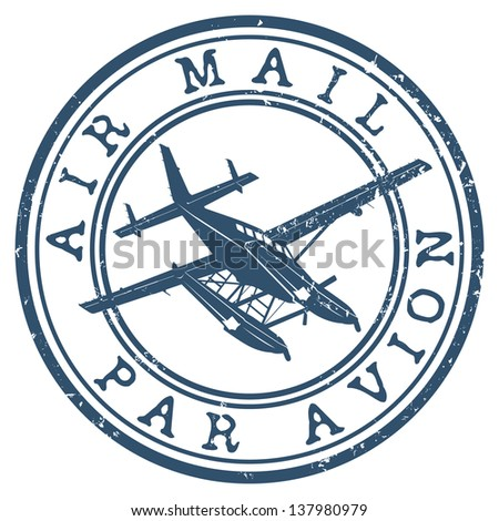 Par Avion Stamp Stock Images, Royalty-Free Images & Vectors ...