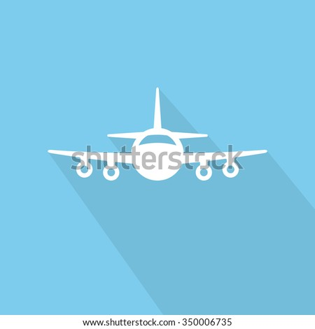 air plane icon - stock vector