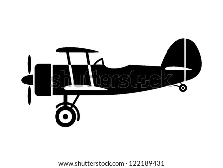 Airplane Silhouette Stock Photos, Royalty-Free Images & Vectors ...