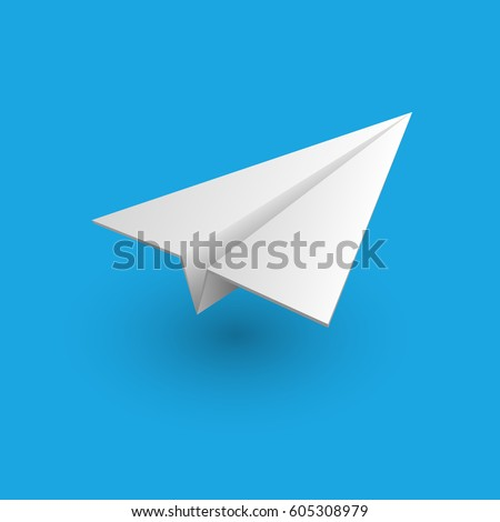 Aircraft, icon. Vector illustration