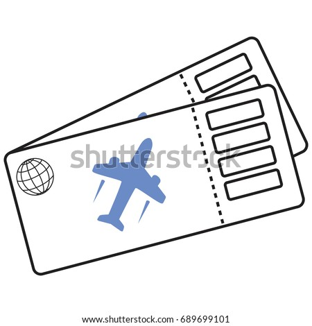 airline ticket stock images royalty free images vectors shutterstock. Black Bedroom Furniture Sets. Home Design Ideas