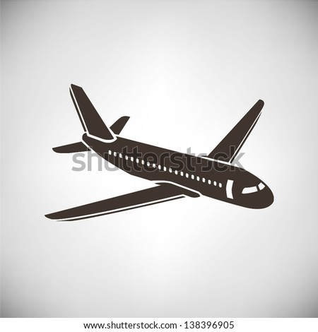 airplane - stock vector