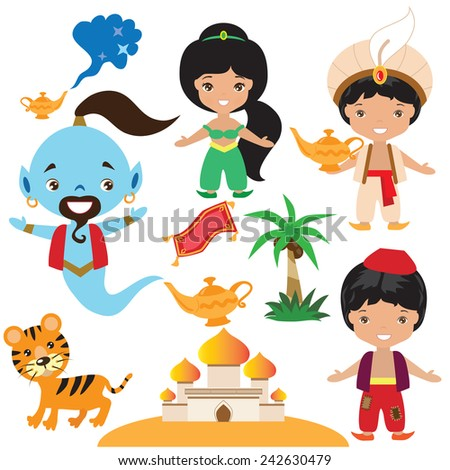 Aladin stock photos royalty free images vectors for Aladdin carpet vector