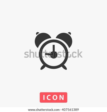 Alarm clock Icon Vector. Alarm clock Icon Art. Alarm clock Icon eps. Alarm clock Icon logo. Alarm clock Icon Sign. Alarm clock Icon Flat. Alarm clock icon app. Alarm clock icon UI Alarm clock icon web - stock vector