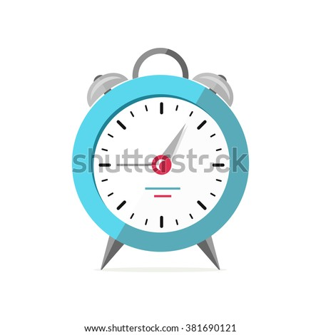 Alarm clock logo icon isolated. Watch object, time office symbol. Clock flat icon. Time logo. Watch logo. Clock logo. World time. Clock icon. Clock time vector icon. Timer clock isolated silhouette - stock vector