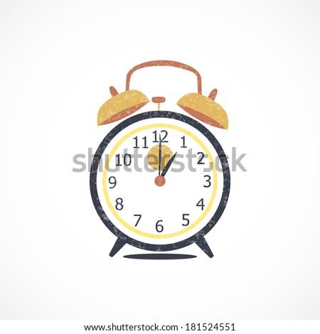 Alarm Clock, Vector Illustration - stock vector