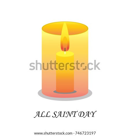 All saints day red votive candles stock vector 746723197 shutterstock m4hsunfo