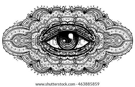 Magic Eye Stock Royalty Free & Vectors