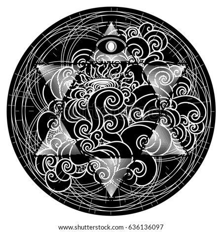 All Seeing Eye Tattoo Art Spirituality And Esoteric Mystical Extreme For T