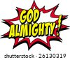 almighty - stock photo