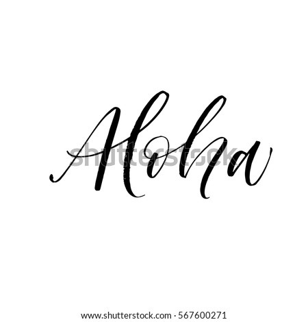Aloha Stock Images Royalty Free Images Vectors