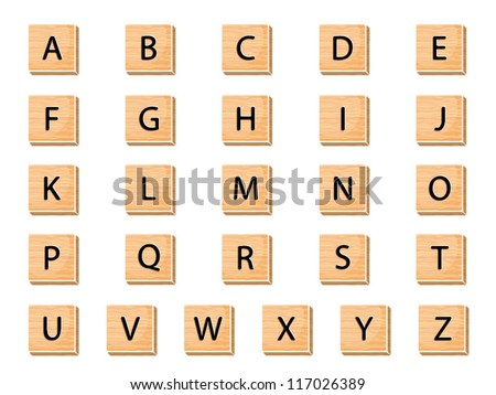 Alphabet - stock vector