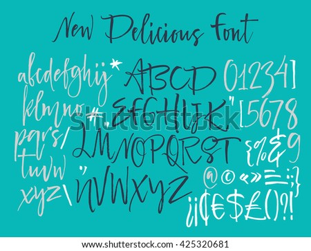 Calligraphy Alphabet Stock Images, Royalty-Free Images & Vectors ...