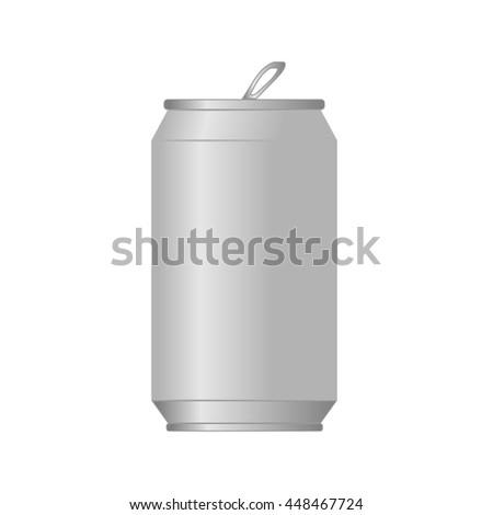 aluminum soda can vector design stock vector 448467724 shutterstock rh shutterstock com soda can drawing vector Soda Can Silhouette