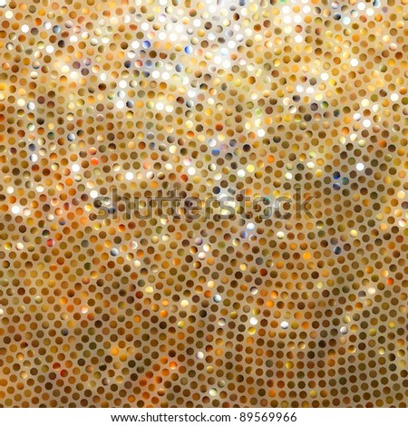 Amazing template design on orange glittering background. EPS 8 vector file included