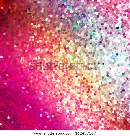 Amazing template design on purple glittering background. EPS 10 vector file included - stock vector