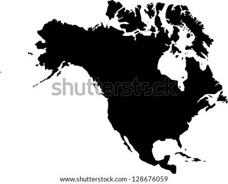 america - stock vector