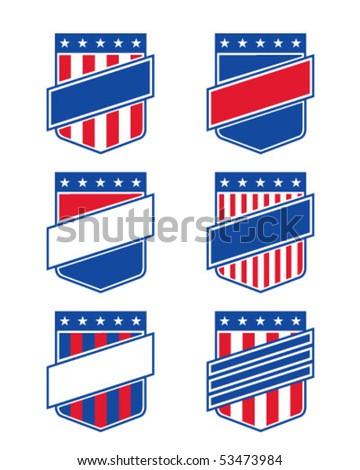 american emblem - stock vector