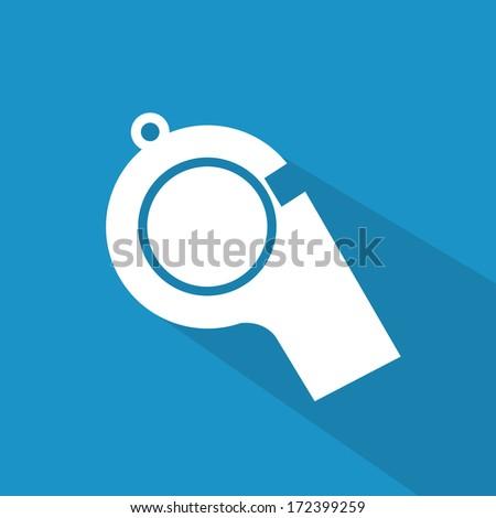 american football design over blue   background vector illustration   - stock vector