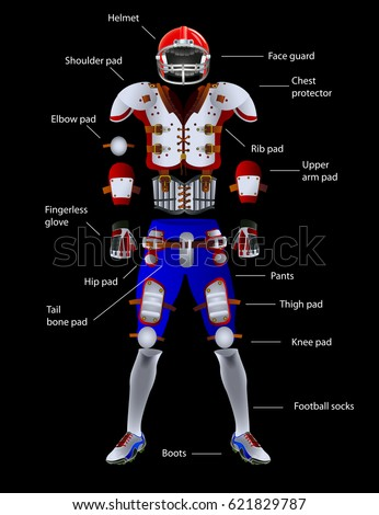 american football equipment captions items isolated stock logo nfl vectoriel nfl logo vector free download
