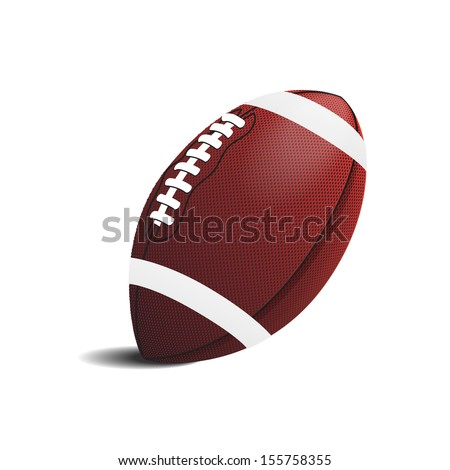 american football symbol ,Illustration eps 10 - stock vector