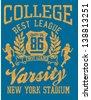 american football wreath shield vector art - stock vector