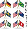 American Friendship Flags 3 - stock