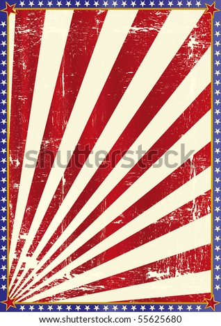 American grunge background. - stock vector