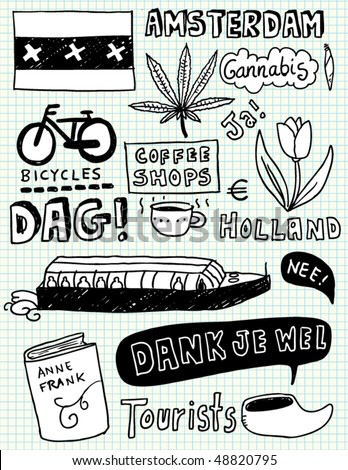 Amsterdam doodles
