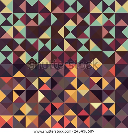 An abstract vector pattern background
