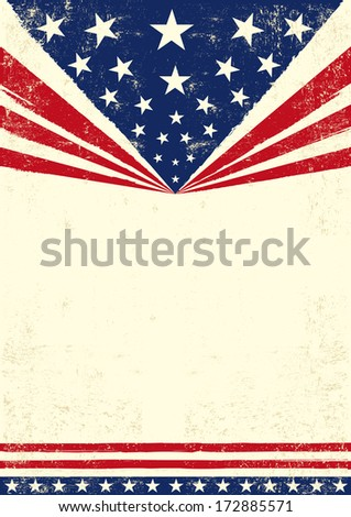 An american background for you - stock vector