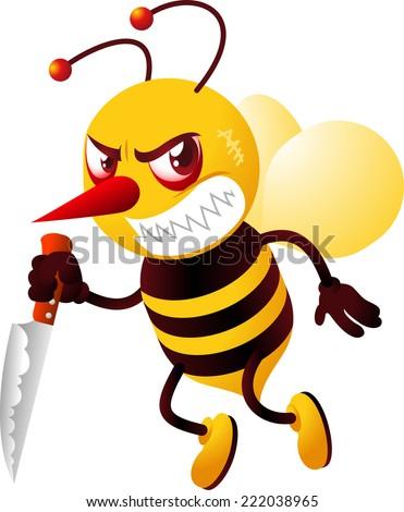 Killer Bees Stock Imag...