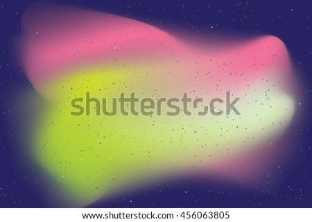 An Illustration of a Nebula - stock vector