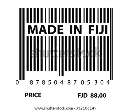An Illustration of stamp marked Made in Fiji